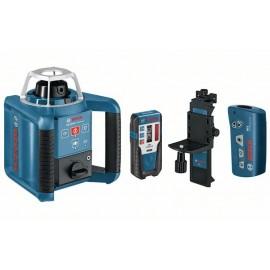 Laser obrotowy BOSCH GRL 300 HV + łata GR 240 + statyw BT300HD