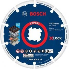 Diamentowo-metalowa tarcza Bosch x-lock 125mm