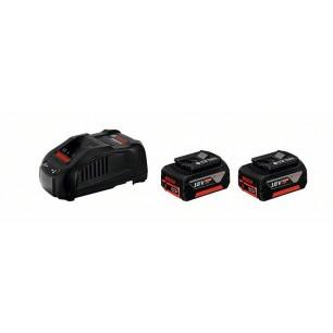 GAL 1880 CV+2x GBA 18V 5,0AH - Ładowarka + akumulatory