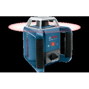 GRL 400 H - Laser obrotowy + walizka  akumulator + zestaw osprzętu + statyw budowlany + łata miernicza