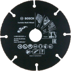 Tarcza tnąca Bosch 125mm Carbide Multi Wheel