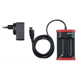 Ładowarka WIHA do akumulatorów litowo-jonowych typu 18500