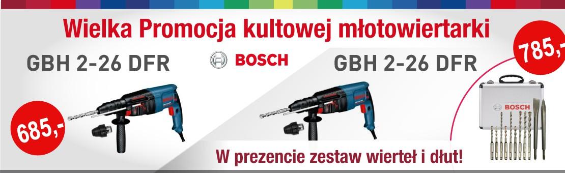 PROMOCJA BOSCH GBH 2-26 DFR